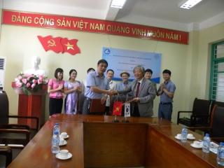 Cooperation of Thai Nguyen university of science and Kyungpook National University, Korea