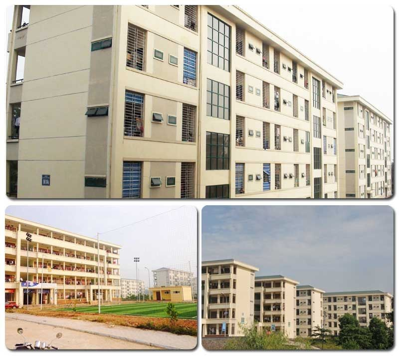 The Dormitory has been synchronously built, modern, convenient with high security